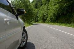 перемещение дороги автомобиля Стоковая Фотография