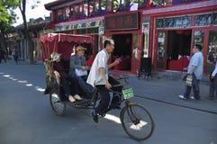 перемещение houhai Пекин Стоковые Изображения