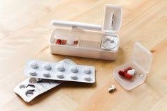 перемещение pillbox пилюльки резца Стоковое Изображение RF