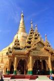 перемещение shwedagon pagoda Азии Стоковое Фото