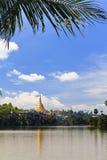 перемещение shwedagon pagoda Азии Стоковые Изображения RF