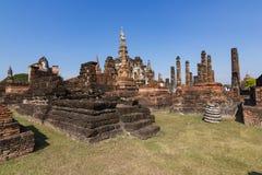 Перемещение - Sukhothai исторический центр Таиланда стоковое фото