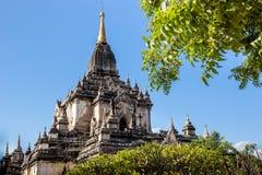Перемещения Бирмы висков Мьянмы королевство bagan светлого языческое Стоковые Изображения RF