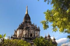 Перемещения Бирмы висков Мьянмы королевство bagan светлого языческое Стоковые Фото