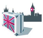 перемещения Британии большие Бесплатная Иллюстрация