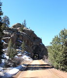 Перемещения тоннеля Стоковая Фотография