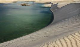 Перенося пески Стоковое Фото