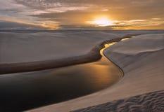 Перенося пески Стоковые Фотографии RF