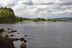 Перепад Carie, озеро Rannoch стоковая фотография