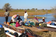 Перепад Okavango Стоковое фото RF