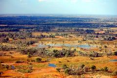 Перепад Okavango Стоковые Изображения