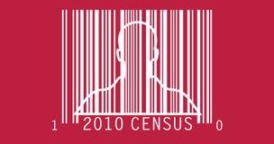 перепись 2010 Стоковое Изображение
