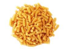 переплетенная спираль rotini макаронных изделия лапши стоковое изображение