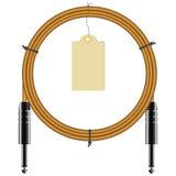 Переплетенный кабель Стоковое Изображение RF