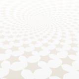 Переплетенная спираль звезд Белая & серая абстрактная предпосылка Стоковые Фото