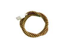 Переплетенный кабель USB провода Стоковые Изображения
