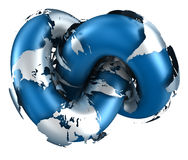 переплетенный мир Стоковое Изображение