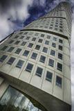 Переплетенный небоскреб, поворачивая торс в Malmö Стоковая Фотография RF