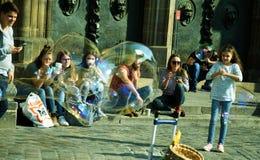 Перерыв и пузыри в Нюрнберге Стоковая Фотография