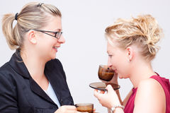 Перерыв на чашку кофе дела Стоковое Изображение RF