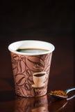 Перерыв на чашку кофе места работы Стоковая Фотография RF