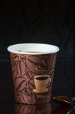 Перерыв на чашку кофе места работы Стоковое Изображение RF