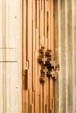 пересекает деревянное стоковые фото