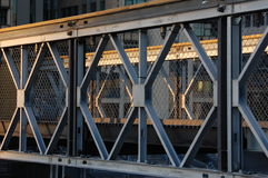 пересекает сталь Стоковое фото RF