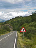 пересекать опасный Стоковое фото RF