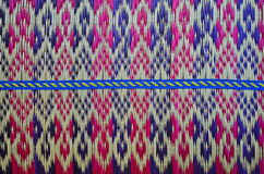 Пересекающаяся линия одежд на циновке папируса Стоковое Изображение RF