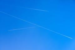 3 пересекая плоских трассировки Стоковая Фотография RF