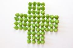 пересеките зеленый цвет Стоковое Изображение