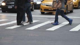 Пересечение в Нью-Йорке акции видеоматериалы