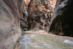 пересечение каньона Стоковое Изображение