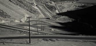 Пересечение дорог ряд Анд Стоковое Изображение RF