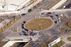 Пересечение улицы Стоковое фото RF