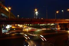 Пересечение Silom Стоковая Фотография RF