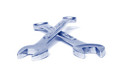 пересеченные гаечные ключа Стоковая Фотография RF