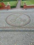Пересеченные ключи Ватикана Стоковое фото RF