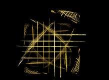 пересеченные проводы Стоковое Изображение RF