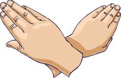 пересеченные руки вверх Стоковые Фотографии RF