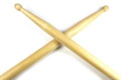пересеченные ручки барабанчика Стоковые Фотографии RF