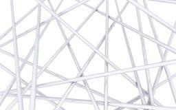 Пересеченные спицы хрома Стоковое Фото