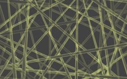 Пересеченные трубки зарева Стоковое Изображение RF