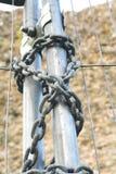 пересеченные цепи Стоковое Фото