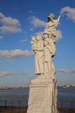 переселенцевый памятник к Стоковая Фотография