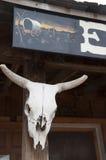 Перестрелка на ОДОБРЕННОМ загоне в надгробной плите Аризоне в США Стоковые Фотографии RF