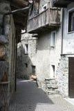 переулок высокогорный Стоковые Фотографии RF
