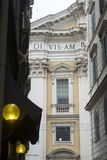 Переулок в историческом центре Рима