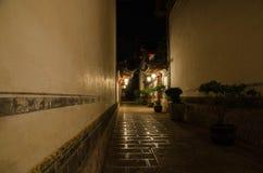 Переулок в Китае стоковые изображения rf